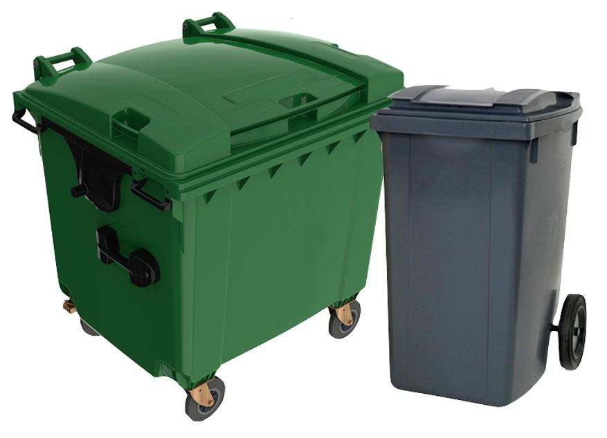 contenedores carga trasera