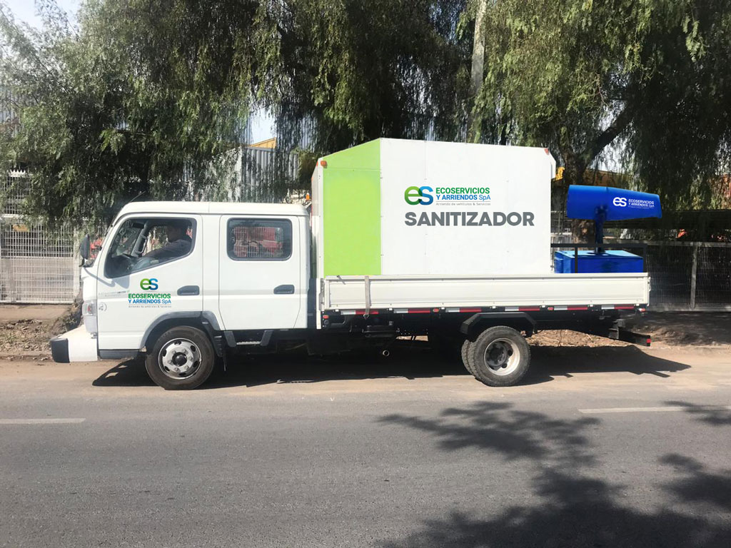 Camion Sanitizador